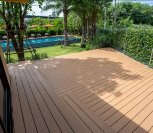 Simplest High-Performance Offering WPC Decking pictures & photos