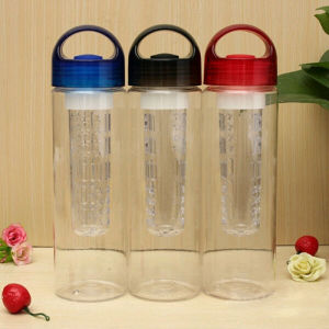 700ml tritan infuser water bottle, tritan water fruit infuser bottle