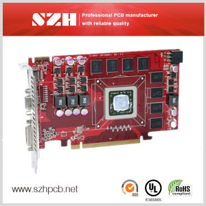 High Quality 1.6mm HASL Memory Cards PCB PCBA pictures & photos