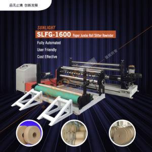 China Kraft Paper Jumbo Roll Cutting Machine (SLFQ-1300)