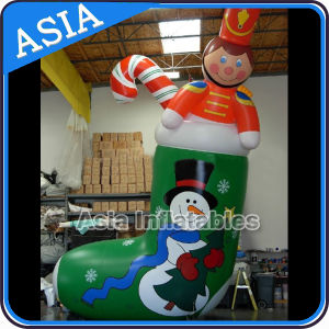 Inflatable Christmas Stocking Balloon Helium Balloon for Festival pictures & photos