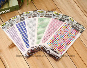 4mm Crystal Adhesive Sticker Self Adhesive Rhinestone Stickers (TS-510 4mm) pictures & photos