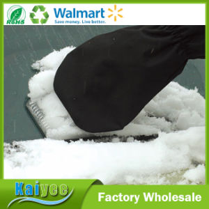 Warm Plastic Car Snow Shovel Ice Scraper with Glove pictures & photos