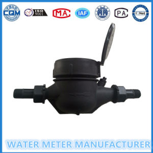 Dn15-20mm Nylon Plastic Muti-Jet Dry Dial Type Water Meter pictures & photos