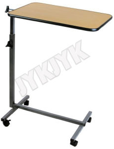 Deluxe Medical Over-Bed Table with One Drawer pictures & photos