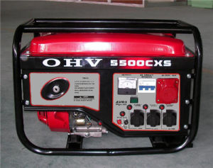 4.5kw Ohv 3 Phase Gasoline Generator pictures & photos