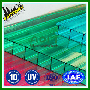 Solid PC Sheet Polycarbonate Translucent Panels Solar Panels Solar Panels Balcony Hollow Channel Awning Vine pictures & photos