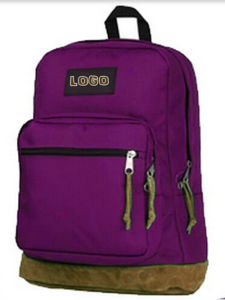 600d Polyester School Backpack Bag for High School pictures & photos