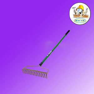 14 Tines Steel Farming Bow Hay Rake with Wooden Fiberglass Handle pictures & photos