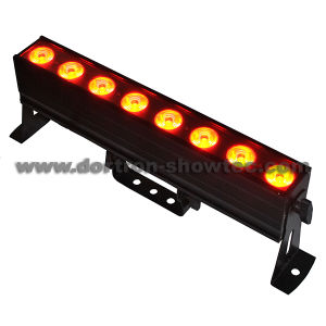 LED Bar Light DMX 8X6w Warm White and Cool White 2in1
