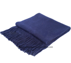 New Fashion Tassel Pure Cashmere Scarf pictures & photos