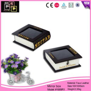 Wholesale Plastic Window Box Book-Shaped Gift Jewelry Box (1689R1) pictures & photos