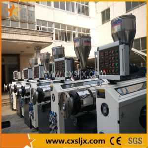 Diameter 16-63 63-110 110-250 250-400 400-630mm PVC Tube Extrusion Machine pictures & photos