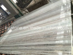 Chinese Crystal Wood Marble Slab for Wall and Floor