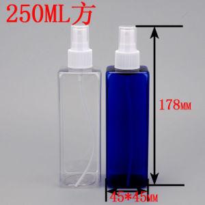 Good Market! 250ml/8oz Pet Cosmetic Square Fine Mist Spray Bottle pictures & photos