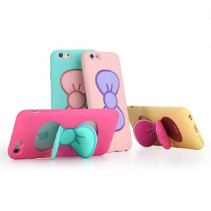 New Coming Cute Bowknot Holder Phone Case pictures & photos