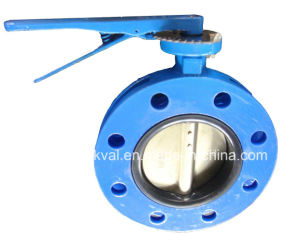 BS5155 S13 Double Falnge Butterfly Valve pictures & photos