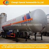 Tri-Axles 56 Cbm LPG Gas Cylinder Pressure Vessel Semi Trailer pictures & photos