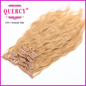 Factory Supply High Quality Virgin Unprocessed All Colors Clip in Hair Extension pictures & photos