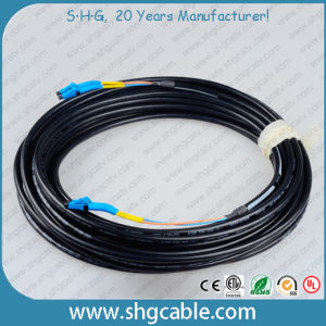 LC/PC-LC/PC Sm Duplex Fiber Optical Cable Patch Cord Used for Field Application pictures & photos