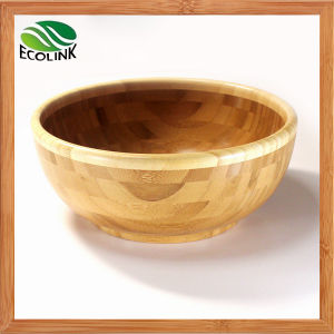 Eco-Friendly Natural Bamboo Salad Bowl pictures & photos