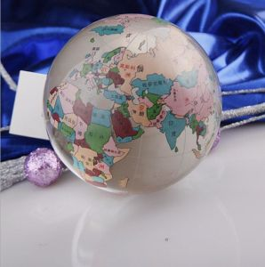 Fashion Crystal Globe Glass Ball World Cup (KS12080) pictures & photos