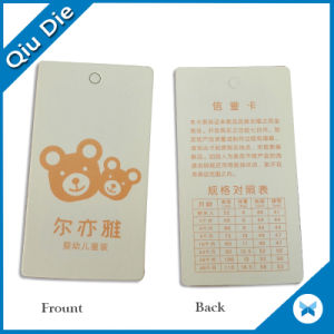 China Factory Custom Clothing Tags and Labels pictures & photos