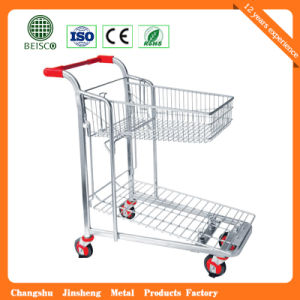 Wholesale Warehouse Cart Trolley with Best Price (JS-TWT06) pictures & photos