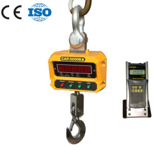 Rotated Crane Scale with Remote Display of 5000kg pictures & photos