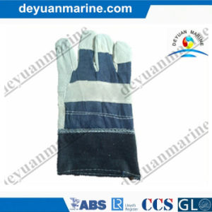 10.5 Inch Industrial Glove Leather Welding Gloves and Nitrile Gloves Factory pictures & photos