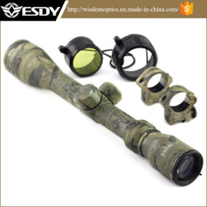 3-9X40 Tactical Optical Camo Color Riflescope pictures & photos