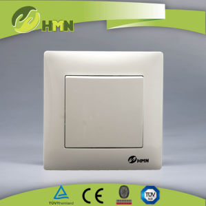 TUV Ce European Standard 1 Gang 1 Way Switch pictures & photos