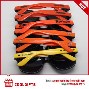 Two Color Classic Wayfarer Style Sunglasses with Custom Print Logo pictures & photos