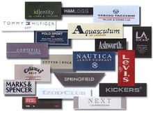 Bags and Tags Woven Labels