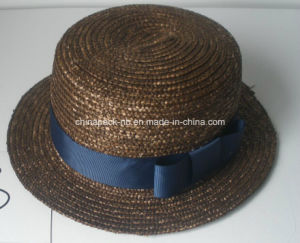 Chapeau Canotier Hats with Different Color (CPA_80050) pictures & photos