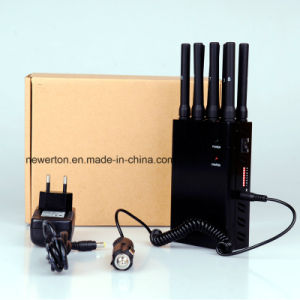 Universal 8-Band Portable Cell Phone Signal Jammer; 2g/3G/4G Cellular Phones+GPS+Wi-Fi+Lojack Jammer/Blocker; Mobile Phone Signal Isolator pictures & photos