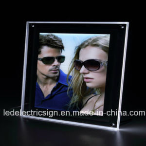 Slim Magnetic LED Light Box for Advertising pictures & photos