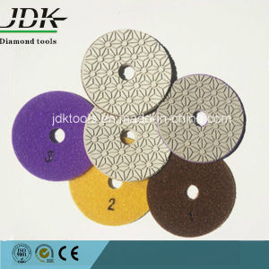 Jdk New Diamond Flexible Wet Polishing Pad, 3steps pictures & photos