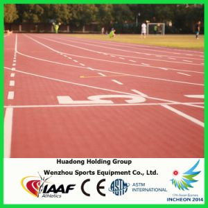 13mm Prefabricated Synthetic Rubber Track for Sports Areas pictures & photos