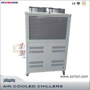 Small Box Type Air Cooled Industrial Air to Water Chiller pictures & photos