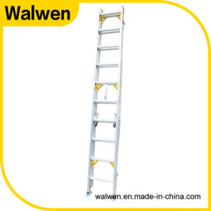 Factory Price Multipurpose Telescopic Aluminum Step Ladder pictures & photos