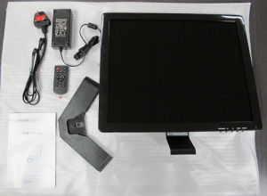 17 Inch BNC LCD/LED Monitor for CCTV, Security Application pictures & photos