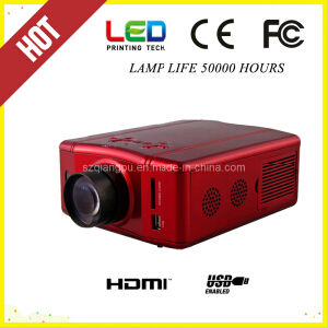 Micro HDMI USB Multimedia Mini LED Projector (SV-856) pictures & photos