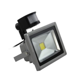 High Lumen 30W Sensor LED Flood Light with CE & RoHS