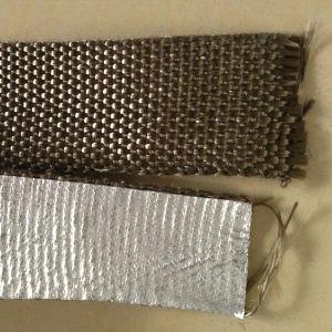 Basalt Fiber Insulation Woven Tape with Aluminium pictures & photos