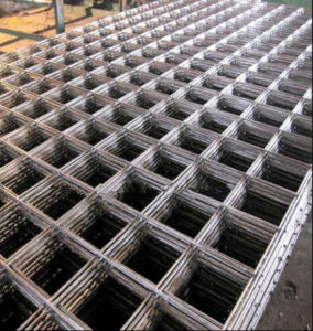 Concrete Reinforced Steel Bar Welded Mesh/Ribbed Bar Steel Mesh pictures & photos