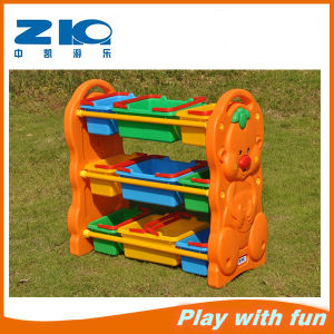 Children Plastic Toys Cabinet on Sell pictures & photos