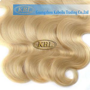 European 613# Blond Color Human Hair pictures & photos