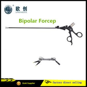 Laparoscopic Fenestrated Bipolar Forceps pictures & photos