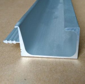 Aluminum Extrusion Frame Section Profile for Doors and Windows (A0101) pictures & photos